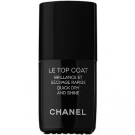 Chanel Le Top Coat vrchný ochranný lak na nechty s leskom  13 ml