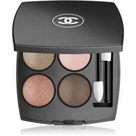 Chanel Les 4 Ombres očné tiene odtieň 254 Tissé D´Automne 1,2 g