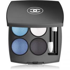 Chanel Les 4 Ombres intenzívne očné tiene odtieň 244 Tissé Jazz 2 g