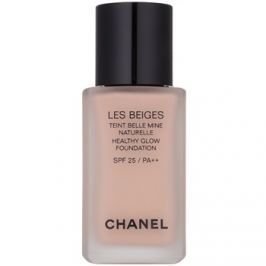 Chanel Les Beiges rozjasňujúci make-up pre prirodzený vzhľad SPF 25 odtieň N°32 Rosé  30 ml