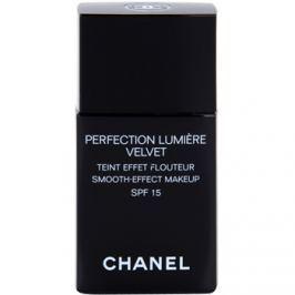 Chanel Perfection Lumière Velvet zamatový make-up pre matný vzhľad odtieň 60 Beige SPF 15  30 ml