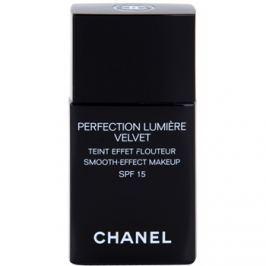 Chanel Perfection Lumière Velvet zamatový make-up pre matný vzhľad odtieň 40 Beige SPF 15  30 ml