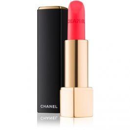Chanel Rouge Allure Velvet zamatový rúž s matným efektom odtieň 60 Rouge Troublant  3,5 g