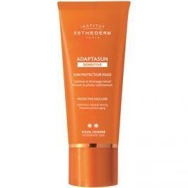 Institut Esthederm Adaptasun Sensitive ochranný krém na tvár so strednou UV ochranou  50 ml