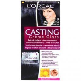 L'Oréal Paris Casting Creme Gloss farba na vlasy odtieň 210 Blue Black