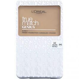 L'Oréal Paris True Match Genius kompaktný make-up 4 v 1 odtieň 2.C Rose Vanilla SPF 30 7 g