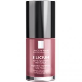 La Roche-Posay Silicium Color Care lak na nechty odtieň 16 Raspberry  6 ml