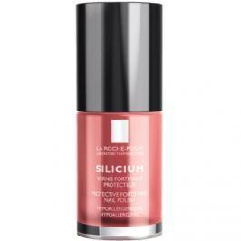 La Roche-Posay Silicium Color Care lak na nechty odtieň 22 Poppy Red 6 ml