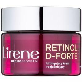Lirene Retinol D-Forte 70+ rozjasňujúci denný krém s liftingovým efektom  50 ml