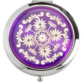Magnum Feel The Style kozmetické zrkadielko okrúhle 128 B Purple