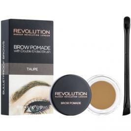 Makeup Revolution Brow Pomade pomáda na obočie odtieň Taupe 2,5 g