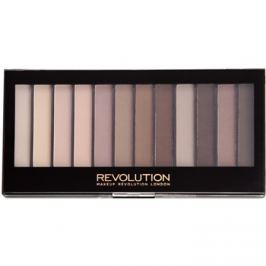 Makeup Revolution Essential Mattes 2 paleta očných tieňov  14 g