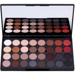 Makeup Revolution Flawless 2 paleta očných tieňov so zrkadielkom  20 g