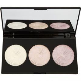 Makeup Revolution Highlight paleta rozjasňujúcich púdrov  15 g