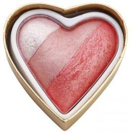 Makeup Revolution I ♥ Makeup Blushing Hearts lícenka odtieň Bursting With love 10 g