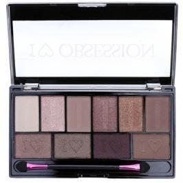 Makeup Revolution I ♥ Makeup I ♥ Obsession Palette paleta očných tieňov (Pure Cult) 17 g