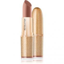 Makeup Revolution Life On the Dance Floor matný rúž odtieň VIP Elite 3,2 g