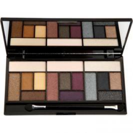 Makeup Revolution Pro Looks Big Love paleta očných tieňov  13 g
