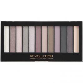 Makeup Revolution Romantic Smoked paleta očných tieňov  14 g