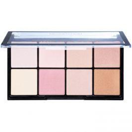 Makeup Revolution Ultra Pro Glow paleta rozjasňovačov  20 g