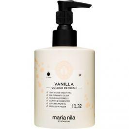 Maria Nila Colour Refresh Vanilla jemná vyživujúca maska bez permanentných farebných pigmentov výdrž 4-10 umytí 10.32 300 ml