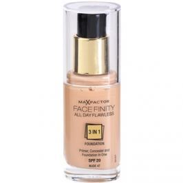 Max Factor Facefinity make-up 3v1 odtieň 47 Nude  30 ml