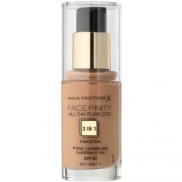 Max Factor Facefinity make-up 3v1 odtieň 77 Soft Honey  30 ml