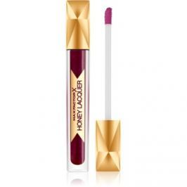 Max Factor Honey Lacquer lak na pery odtieň Regale Burgundy