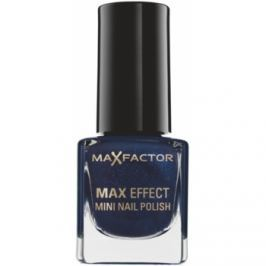 Max Factor Max Effect lak na nechty odtieň 18 Cloudy Blue  4,5 ml