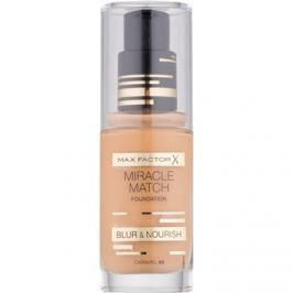 Max Factor Miracle Match tekutý make-up s hydratačným účinkom odtieň 85 Caramel 30 ml