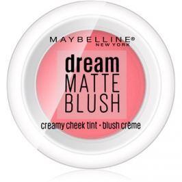 Maybelline Dream Matte Blush matná krémová tvárenka odtieň 10 Flirty Pink 6 g
