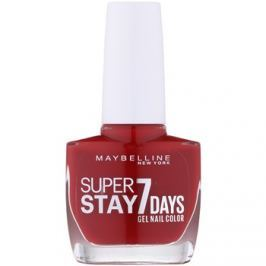 Maybelline Forever Strong Super Stay 7 Days lak na nechty odtieň 06 Rouge Profond 10 ml
