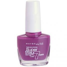Maybelline Forever Strong Super Stay 7 Days lak na nechty odtieň 230 Berry Stain 10 ml