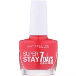 Maybelline Forever Strong Super Stay 7 Days lak na nechty odtieň 490 Hot Salsa 10 ml
