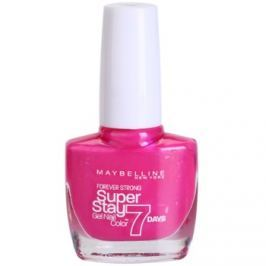 Maybelline Forever Strong Super Stay 7 Days lak na nechty odtieň 155 Bubble Gum 10 ml