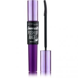 Maybelline The Falsies® Push Up Angel riasenka s efektom umelých mihalníc odtieň Very Black 9,5 ml
