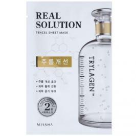Missha Real Solution plátenná maska s protivráskovým účinkom  25 g