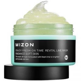Mizon Enjoy Fresh-On Time revitalizačná maska s limetkou na povädnutú pleť  100 ml