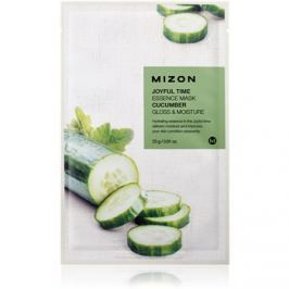 Mizon Joyful Time plátenná maska s rozjasňujúcim a hydratačným účinkom  23 g