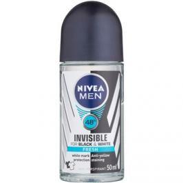 Nivea Men Invisible Black & White guličkový antiperspirant pre mužov  50 ml