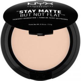 NYX Professional Makeup HD Studio kompaktný púdrový make-up pre matný vzhľad odtieň 16 Porcelain 7,5 g