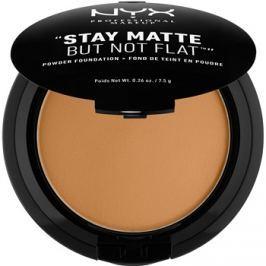 NYX Professional Makeup HD Studio kompaktný púdrový make-up pre matný vzhľad odtieň 18.3 Deep Golden 7,5 g