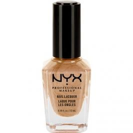 NYX Professional Makeup Nail Lacquer lak na nechty odtieň 66 Melted Gold 12 ml