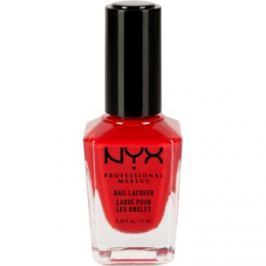 NYX Professional Makeup Nail Lacquer lak na nechty odtieň 32 Vinyl Red 12 ml
