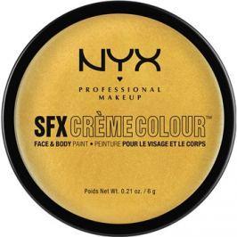 NYX Professional Makeup SFX Creme Colour™ make-up na tvár a telo odtieň 11 Gold 6 g
