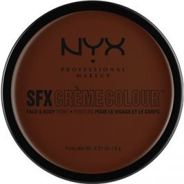 NYX Professional Makeup SFX Creme Colour™ make-up na tvár a telo odtieň 08 Brown 6 g