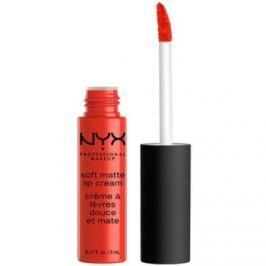 NYX Professional Makeup Soft Matte matný tekutý rúž odtieň 22 Morocco 8 ml