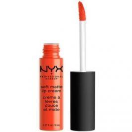 NYX Professional Makeup Soft Matte matný tekutý rúž odtieň 28 San Juan 8 ml