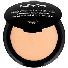NYX Professional Makeup Stay Matte But Not Flat púdrový make-up odtieň 12 Tawny 7,5 g