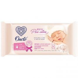 Onclé Baby vlhčené čistiace obrúsky pre deti od narodenia so šípkovým olejom  54 ks